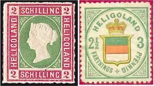Почтовые марки Гельголанда
