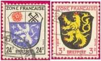 Почтовые марки французской оккупационной зоны