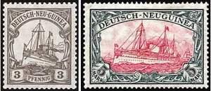 Почтовые марки Германской Новой Гвинеи