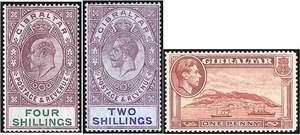 Почтовые марки Гибралтара