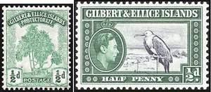Почтовые марки Гильберта и Эллис островов