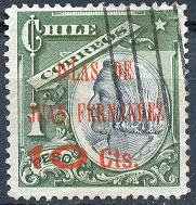Почтовая марка островов Хуана-Фернандеса