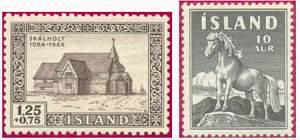 Почтовые марки Исландии