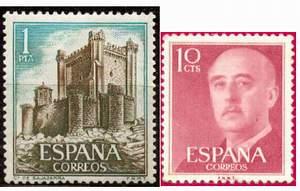 Почтовые марки Испании