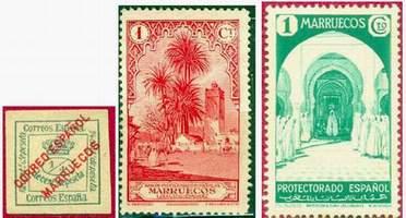 Почтовые марки Испанского Марокко