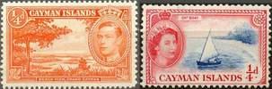 Почтовые марки Каймановых островов