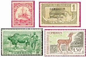 Почтовые марки Камеруна