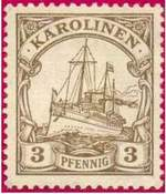 Почтовая марка Каролинских островов
