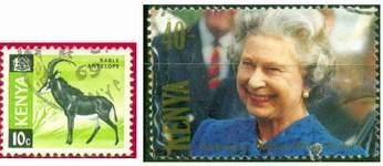 Почтовые марки Кении