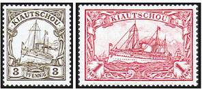 Почтовая марка Киаучжоу