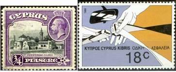 Почтовые марки Кипра