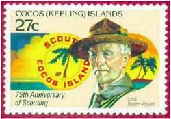 Почтовая марка Кокосовых (Килинг) островов