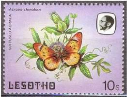 Почтовая марка Лесото
