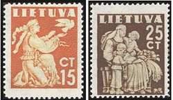 Почтовые марки Литовской ССР
