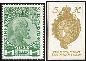 Почтовые марки Лихтенштейна