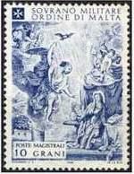 Почтовая марка Мальтийского ордена