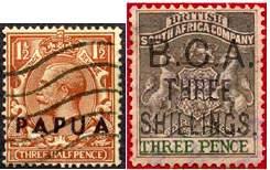 Фальшивые марки британских колоний, в ущерб коллекционерам