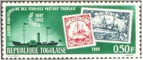 «Марка на марке» (Того)