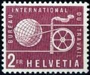 Почтовая марка МОТ