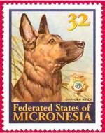 Почтовая марка Микронезии