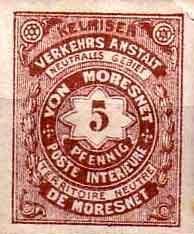 Почтовая марка Моресне