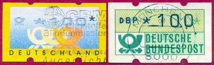 Марки автоматные (Германия)