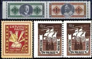 Марки лагерной почты (Германия, Литва, Польша)