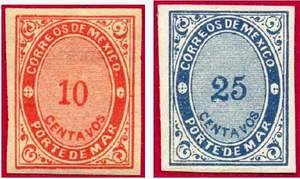 Марки морской почты (Мексика)