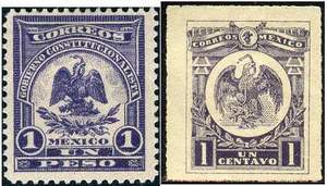 Почтовые марки Мексики