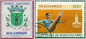 Почтовые марки Мозамбика