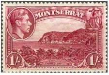 Почтовая марка Монтсеррата