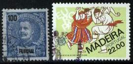 Почтовые марки Мадейры (Фуншал)