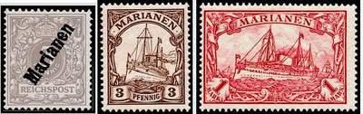 Почтовые марка Марианских островов