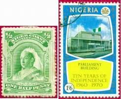 Почтовые марки Нигерии