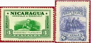 Почтовые марки Никарагуа