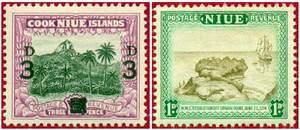 Почтовая марка Ниуэ