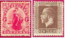 Почтовые марки Новой Зеландии