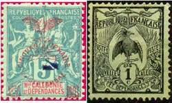 Почтовые марки Новой Каледонии