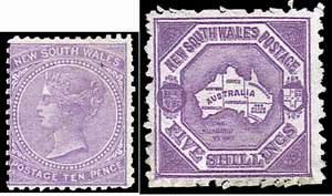 Почтовая марка Нового Южного Уэльса