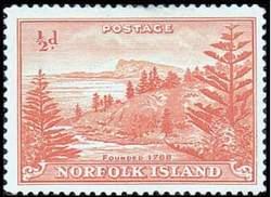 Почтовая марка Норфолка