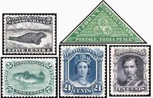 Почтовые марки Ньюфаундленда