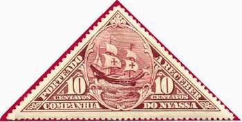 Почтовая марка португальской компании Ньяса