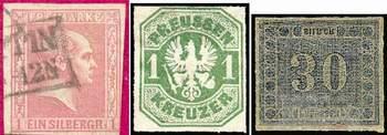 Почтовые марки Пруссии