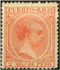 Почтовая марка Пуэрто-Рико