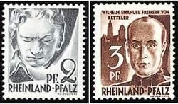Почтовые марки Рейнланда-Пфальца