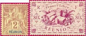 Почтовые марки Реюньона