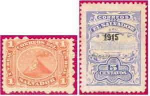 Почтовые марки Сальвадора