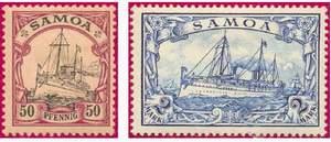 Почтовые марки Самоа