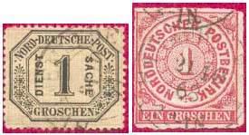 Марки Северо-Германского почтового округа