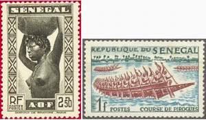Почтовые марки Сенегала